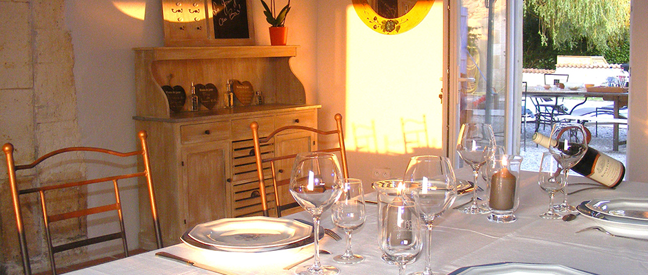 La Grange au Bois, salle à manger